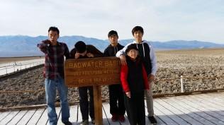 Đi chơi ở Death Valley